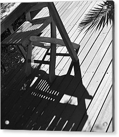 Summertime Shadows Acrylic Print by Cheryl Miller