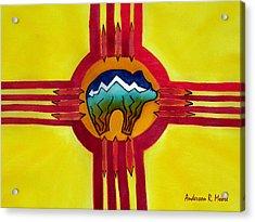 Sun Bear Acrylic Print by Anderson R Moore