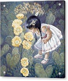 Sun Flower Acrylic Print by Gregory Perillo