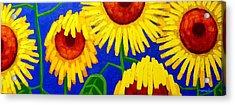 Sun Lovers Acrylic Print by John  Nolan