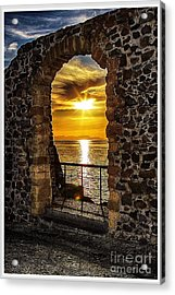 Sun Panorama Acrylic Print by Stefano Senise