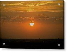 Sun Set Over Sa Acrylic Print by Shawn Marlow