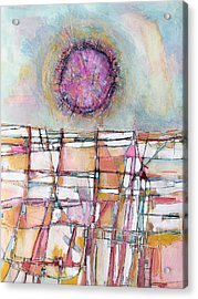 Sun And City Acrylic Print by Hari Thomas