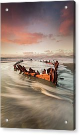 Sunbeam Acrylic Print by Marek Biegalski