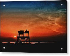 Sundown Acrylic Print by Gerlinde Keating - Galleria GK Keating Associates Inc