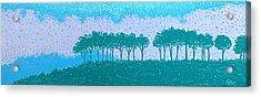 Sundown Acrylic Print by Lisa Bates