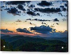Sundown Acrylic Print by Steven Richardson