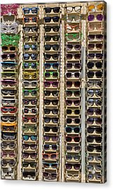 Sunglasses Acrylic Print by Peter Tellone