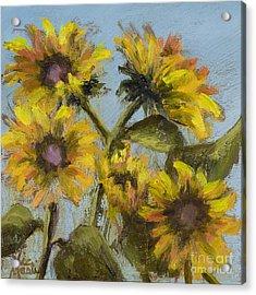 Sunnie Delight Acrylic Print by Vic  Mastis