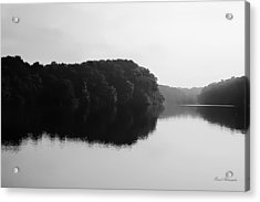 Sunrise Along The River Acrylic Print by Debra Forand