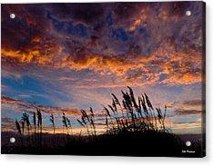 Sunrise At Hatteras Acrylic Print by John Pagliuca