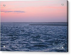 Sunrise At Pamlico Sound Acrylic Print by Cathy Lindsey