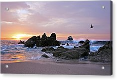 Sunrise In Cabo San Lucas Acrylic Print by Marcia Colelli