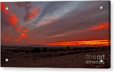 Sunrise Over Yuma Acrylic Print by Robert Bales