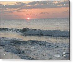 Sunrise Acrylic Print by Polly Anna