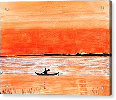 Sunrise Sail Acrylic Print by Sonali Gangane