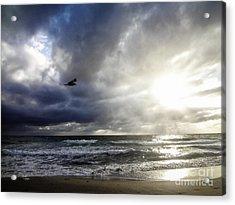 Sunrise South Florida Treasure Coast Acrylic Print by Ginette Callaway
