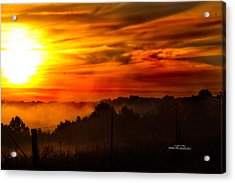 Sunrise Acrylic Print by Stephani JeauxDeVine