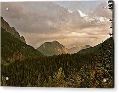 Sunset Alberta June Acrylic Print by Larry Darnell