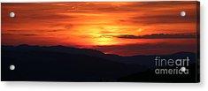 Sunset Acrylic Print by Amanda Mohler