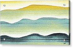 Sunset Acrylic Print by Brenda Bryant
