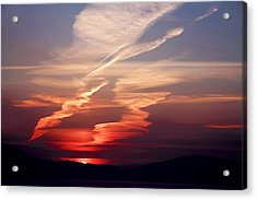 Sunset Dance Acrylic Print by Aidan Moran