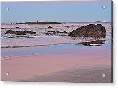 Sunset - Denhams Beach - Australia Acrylic Print by Steven Ralser