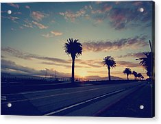 Sunset Drive Acrylic Print by Laurie Search