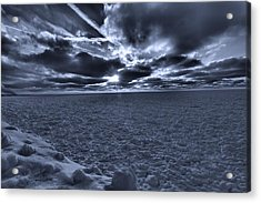 Sunset In The Arctic Acrylic Print by Dan Sproul