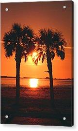 Sunset Acrylic Print by Jennifer Burley