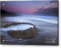 Sunset Maelstrom Acrylic Print by Mike  Dawson