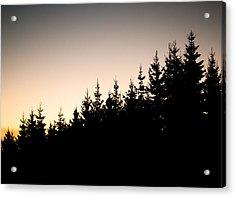 Sunset Acrylic Print by Robert Hellstrom