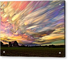 Sunset Spectrum Acrylic Print by Matt Molloy