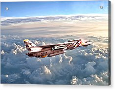 Sunspot Baby Acrylic Print by Peter Chilelli