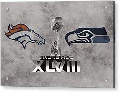 Super Bowl Xlvlll Acrylic Print by Joe Hamilton