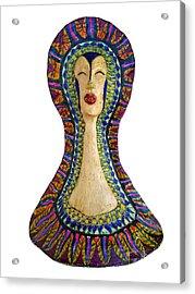 Supernatural Feminity Acrylic Print by Agnieszka Parys-Kozak