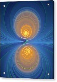 Supersymmetry And Or Bipolarity Acrylic Print by David Parker