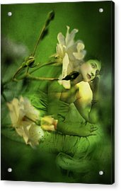 Supposition Acrylic Print by Rebecca Sherman
