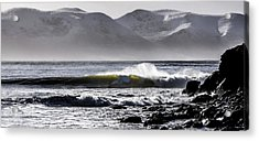 Surf Ireland Acrylic Print by Florian Walsh