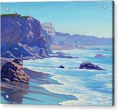 Surf Watchers Acrylic Print by Elena Roche