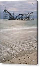 Surf's Up Acrylic Print by Mike Orso