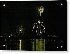 Susquehanna 4th Of July Spectacle Acrylic Print by Gene Walls