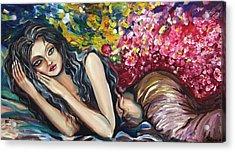 Sweet Dreams Acrylic Print by Yelena Rubin