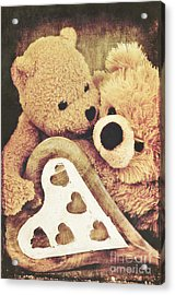 Sweet Love... Acrylic Print by Angela Doelling AD DESIGN Photo and PhotoArt