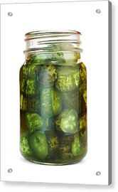 Sweet Pickles Acrylic Print by Jim Hughes