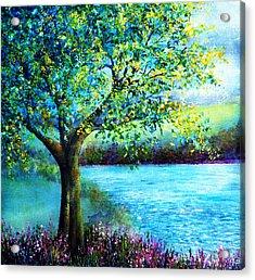 Sweet Spring Acrylic Print by Ann Marie Bone