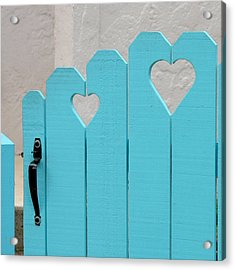 Sweetheart Gate Acrylic Print by Art Block Collections
