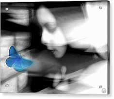 Swept Away By A Dream Acrylic Print by Gun Legler