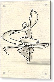 Swirl Acrylic Print by H James Hoff