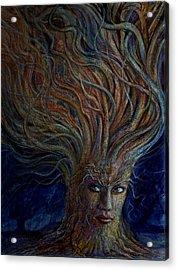 Swirling Beauty Acrylic Print by Frank Robert Dixon